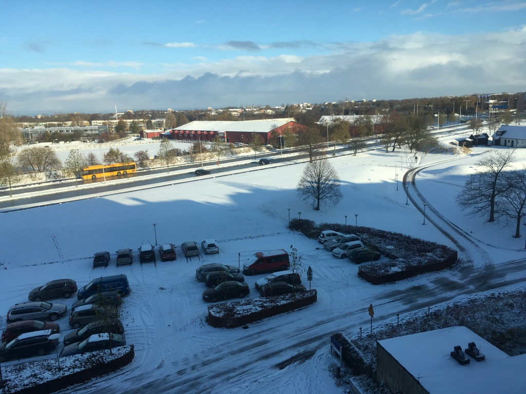 Swedish Winter, Location: LTH, Lund, Sweden, Photo: Candor Blog