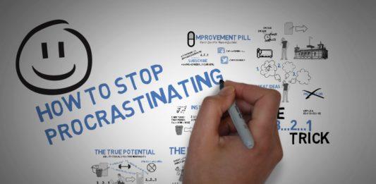 How to stop procrastinating