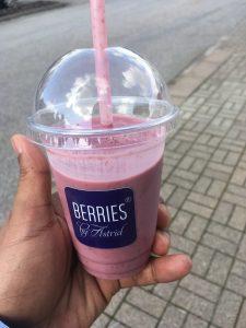 Skogen type smoothie - Berries by Astrid