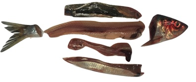 Herring filleting by-products